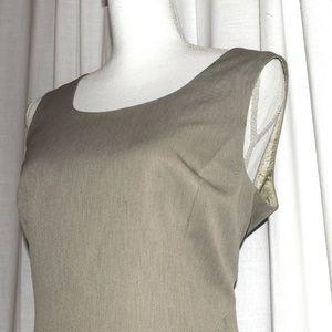 Jones New York Sheath Dress NWOT C: Linen Sz: 12
